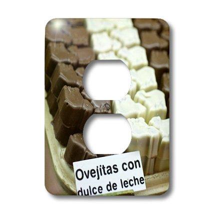 Lsp_85399_6 Danita Delimont - Desserts - Argentina, El Calafate. Dessert, Ovejitas - Sa01 Mme0294 - Michele Molinari - Light Switch Covers - 2 Plug Outlet Cover