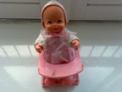 1980'S VINTAGE BOUNCIN KIDS TOY- BABY IN A LEARNING WALKING SEAT