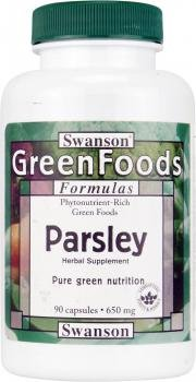 Swanson GreenFoods Parsley 650mg (90 Capsules) from Swanson Health Products