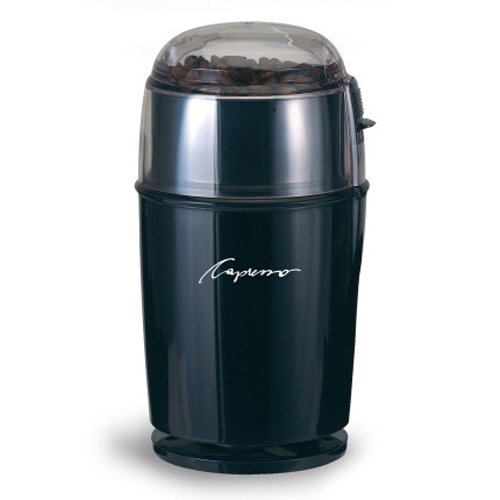 Capresso 503.05 Stainless Steel Cool Grind Coffee Grinder, Stainless Steel front-641446