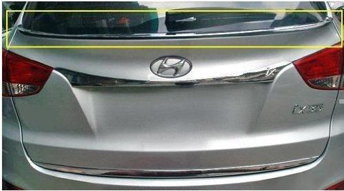 Hyundai ix35 CHROM HECKSCHEIBE TUNING LEISTE ZUBEHÖR