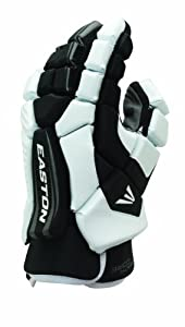 Buy Easton Stealth Core 10-Inch Lacrosse Gloves (Black White) by Easton