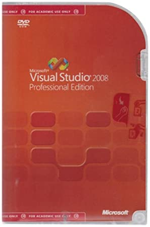 Visual Studio Pro 2008, Academic Edition, (PC)
