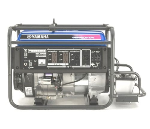 Yamaha YG6600DE 6,600 Watt 357cc OHV 4-Stroke Gas Powered Portable Generator With Electric Start (CARB Compliant)