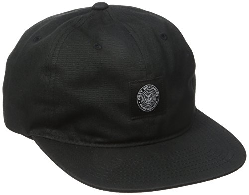OBEY Men's Worldwide Seal 6 Panel Hat, Black, One Size (Six Panel Hat compare prices)