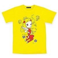 24時間テレビ 2014 チャリティー Tシャツ チャリTシャツ 黄 Mサイズ