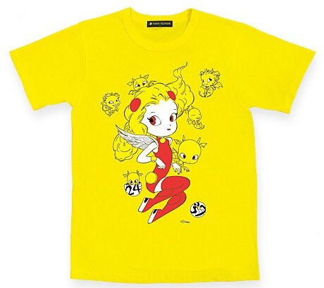 24時間テレビ 2014 チャリティーTシャツ 関ジャニ∞ チャリT グッズ (L, 黄)