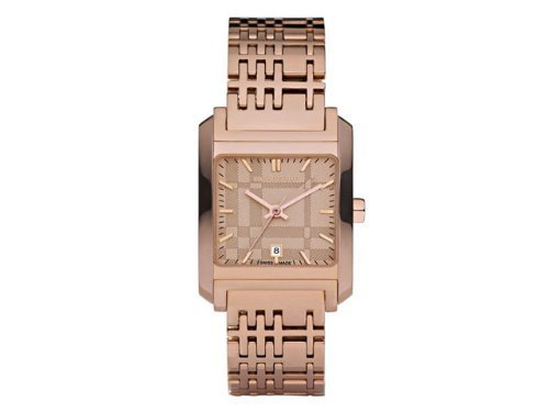 Burberry BU1578 Women's Rose Gold Tone Stainless Steel Watch