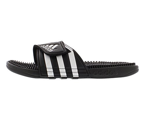Adidas Performance Men'S Adissage Slide Sandal, Black/Black/Ftwwht, 13 M Us back-246602