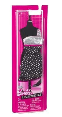 Barbie Trend Outfits (Black/White Polkadot) (Y0373) - 1