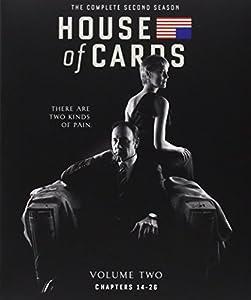 House of Cards: Season 2 (Blu-ray + UltraViolet)