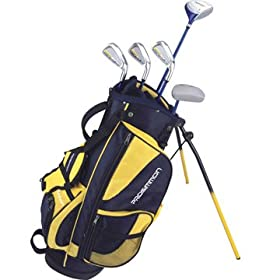 Prosimmon Icon Junior Golf Club Set & Stand Bag for kids ages 4-7 RH