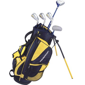 Prosimmon Icon Junior Golf Club Set & Stand Bag for kids ages 8-12 LEFTY