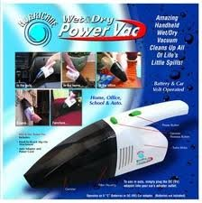 Portable Wet & Dry Power Vacuum Cleaner, Cordless,