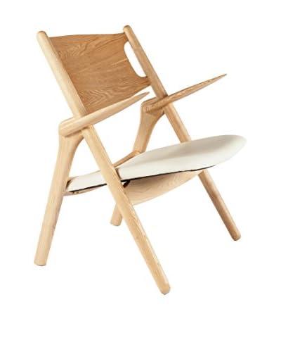 Control Brand Saw Lounge Chair, White
