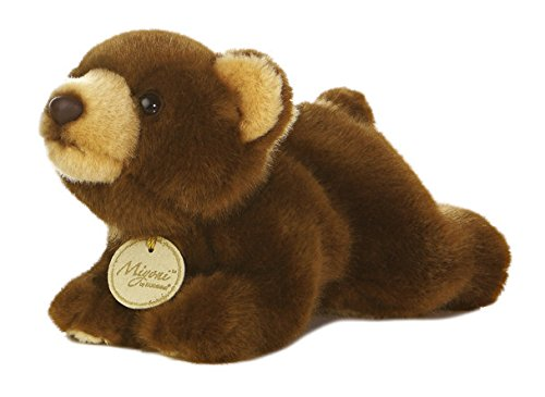 "Miyoni Brown Bear Small 8"" by Aurora"