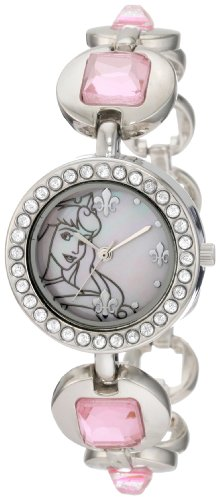 Disney Kids' PN2002 Princess Pink Dial Bracelet Watch