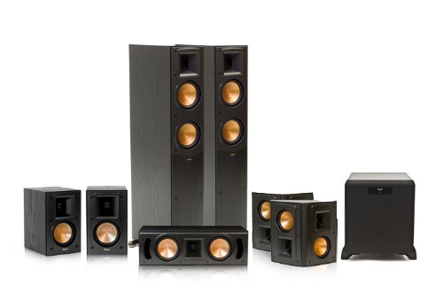 Klipsch Rf-52 Ii Reference Series 7.1 Home Theater System With Sw-450 Subwoofer (Black)