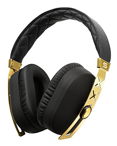 SOUL Electronics SOUL Electronics SJ27GD SOUL Jet Pro 24K Gold Hi Definition Noise Cancelling Headphones, Gold