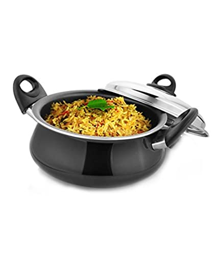 Kitchen-Chef-Handi-Kadhai-With-Dome-Lid-(4-L)