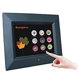 41mEepG8ONL. SL500 AA280  Sungale ID800WT Cyberus 8 Inch WiFi Touch Digital Photo Frame   $170 Shipped