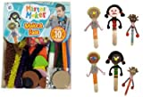 Mister Maker Make a Face Kit . Each kit contains: 10 lollipop sticks, 20 peel and stick foam faces, felt tips, foam shapes, pom poms, chenille stems, wiggly eyes, glue, and an instruction sheet. Great gift idea.