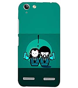 PrintDhaba LOVE GUNS D-6572 Back Case Cover for LENOVO VIBE K5 PLUS (Multi-Coloured)