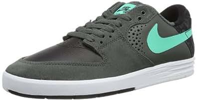 NIKE  Paul Rodriguez 7, Chaussures de skateboard homme - Gris - Grau (Dark Base Grey/Crystal Mint-Black 030), 42 EU