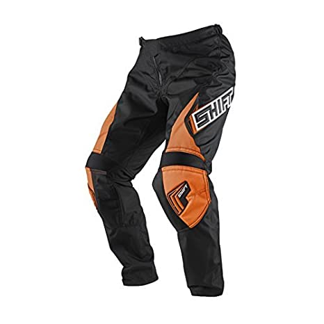 Shift Motocross Pantalons Enfants - Assault - orange