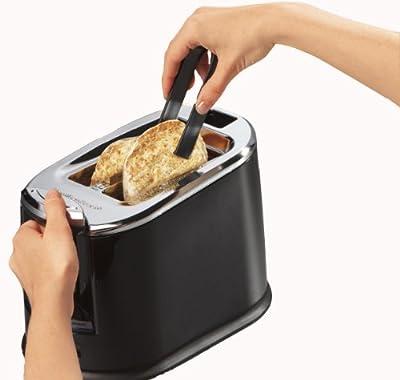 SmartToast Extra-Wide Slot 2 Slice Toaster, Black-22323 from Hamilton Beach