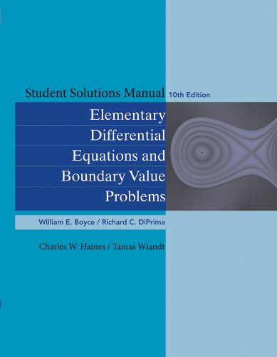 Student solutions manual for elementary differential equations pdf student solutions manual for elementary differential equations fandeluxe
