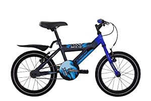 Raleigh Sunbeam Boys' MX 16 Bike - Blue/Grey, 16 Inch