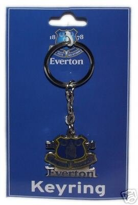 OFFICIAL EVERTON F.C. CREST KEYRING