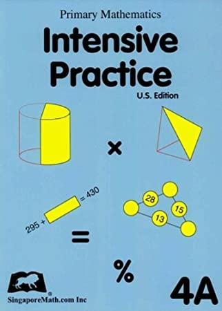 Primary Math Intensive Practice U.S. Edition 4A