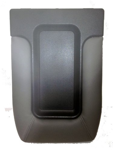 Factory Replacement Center Console Seat Lid 99-06 Chevy Silverado, GMC Sierra, 00-06 Suburban, Tahoe Yukon - Light Grey (06 Chevy Console compare prices)