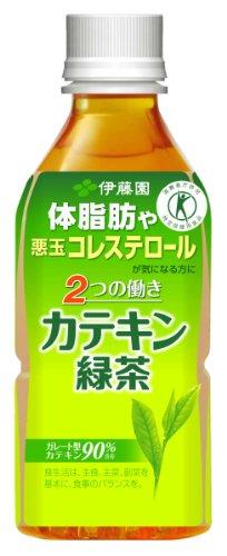 [トクホ]伊藤園 2つの働きカテキン緑茶 PET 350ml×24本