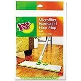 Scotch-Brite Microfiber Hardwood Floor Mop Refill M-005-R, 2-Count