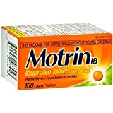 Motrin IB Pain Reliever & Fever Reducer Coated Tablets-100ct