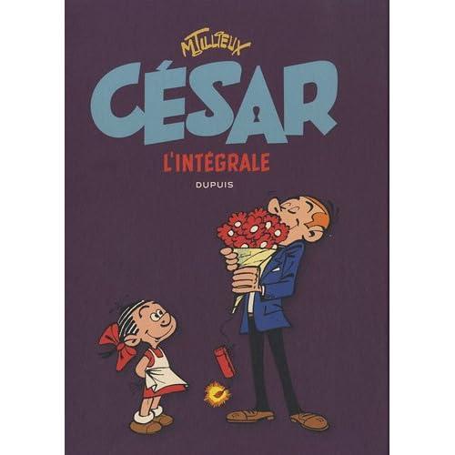 Dupuis udgiver César L'Intégrale af Maurice Tillieux