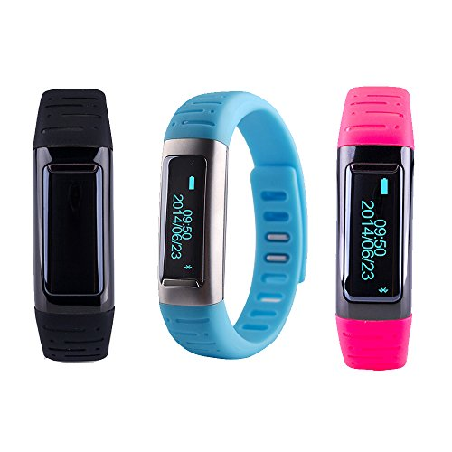 giftsbox: Bluetooth Anti-lost Smartband Fitbit Flex U9 U Watch Wrist Fuelband Pedometer For IOS Android