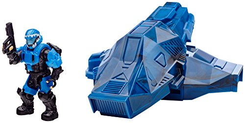 Mega Bloks Halo Drop Pod Metallic Cobalt ODST Toy Figure