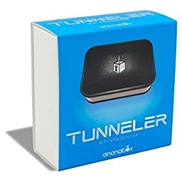Tunneler by Anonabox WiFi VPN Router - Private Internet Tunnel