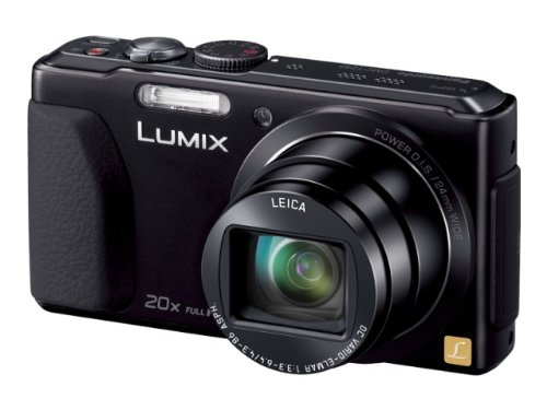 Panasonic Lumix digital camera 20x optical with GPS DMC-TZ40 Black - International Version (No Warranty) (Panasonic Tz40 Camera compare prices)