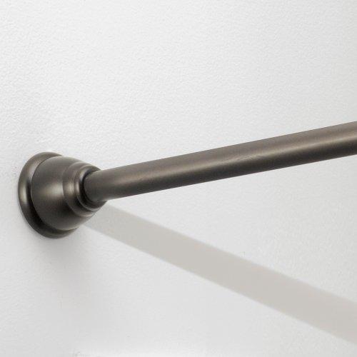 Interdesign Cameo Xt Constant Tension Bathroom Shower Curtain Rod 26 42 Small Bronze