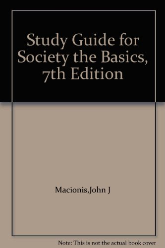 Society Study Guide: The Basics