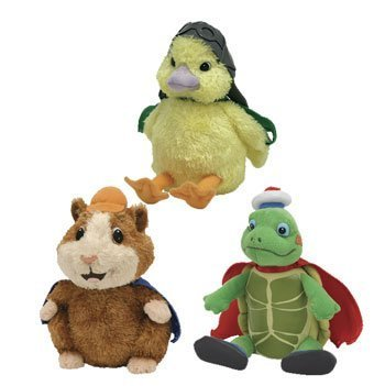Ty Wonderpets Trio Kit (Turtle Tuck, Linny & Ming Ming) back-947662