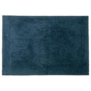 Jovi%20Home Jovi Home 100-Percent Cotton Gracious Bath Mat, 20 by 28-Inch, Blue