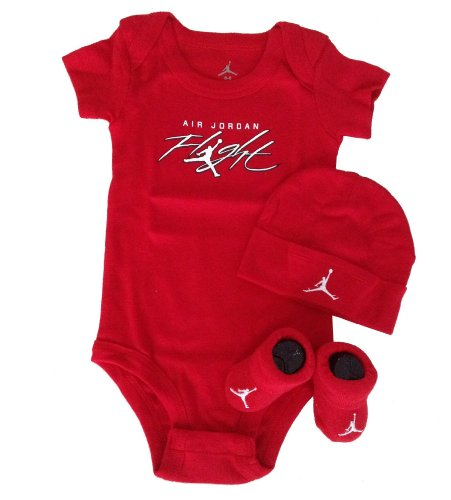 Nike Jordan Infant New Born Baby Layette 3 Pcs Set and Cellphone Anti-dust Plug