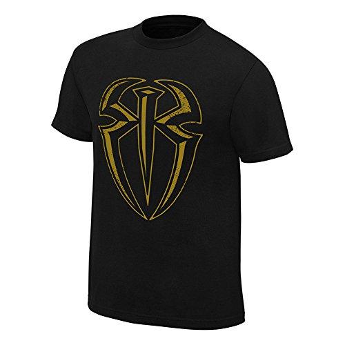 """Official WWE-Roman Reigns """"Posso Will, Oro Edizione Speciale maglietta Gold L"""