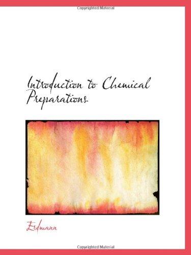 Einführung in die chemische Zubereitungen